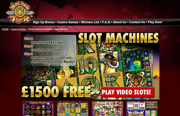 Golden Tiger Online Casino Review