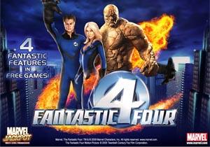 Fantastic Four Marvel Slot Game