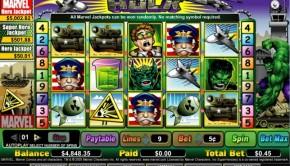 Hulk Slot Machine