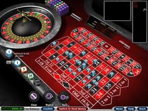 Online European Roulette Table
