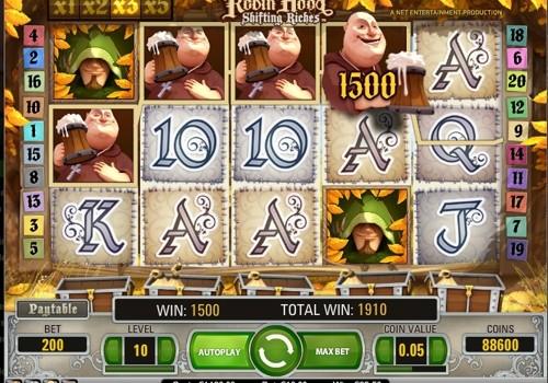 Robin Hood Video Slot Game