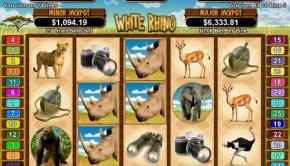 White Rhino Video Slot Game