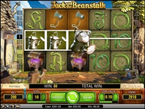 Jack & the Beanstalk Video Slot Game