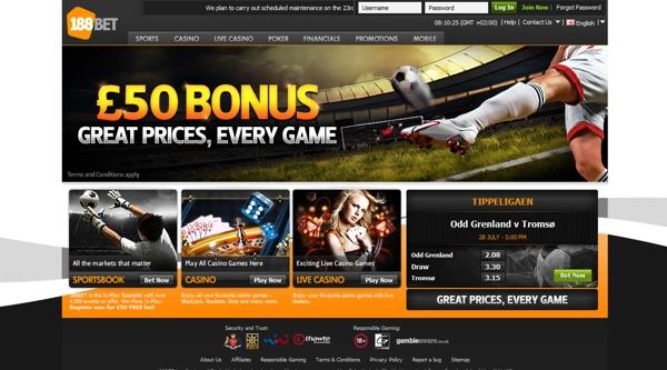 188Bet Website Play Now