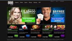 888 Casino Website