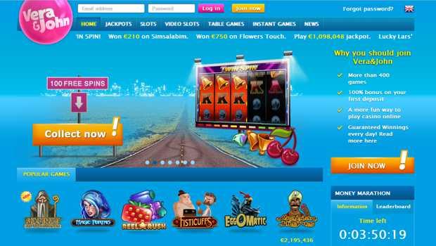 Vera & John Casino Website