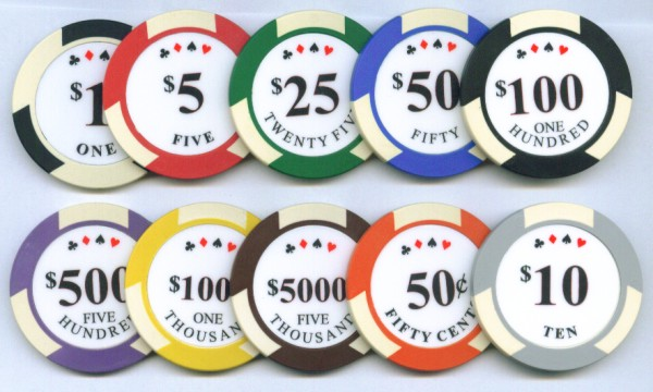Roulette Chips Value