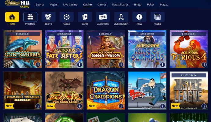 William Hill Online Casino Uk