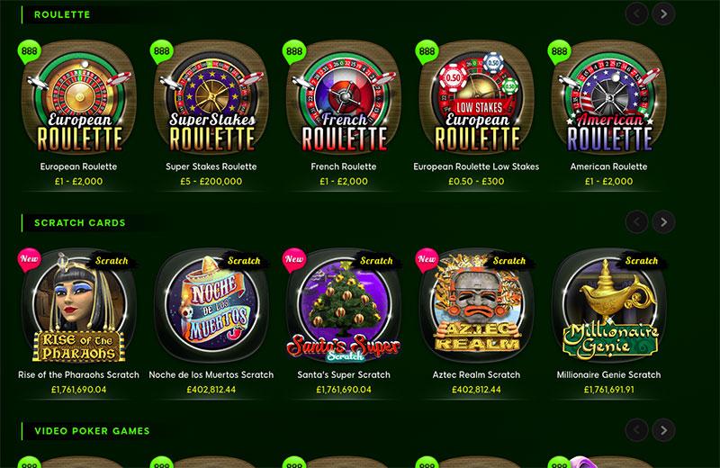 Casino 888 Mac