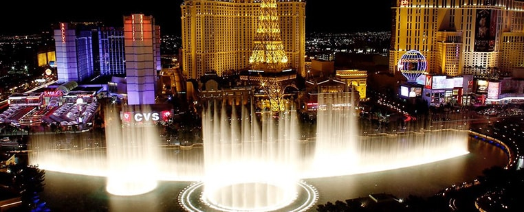 The Bellagio Audiovisual Water Show