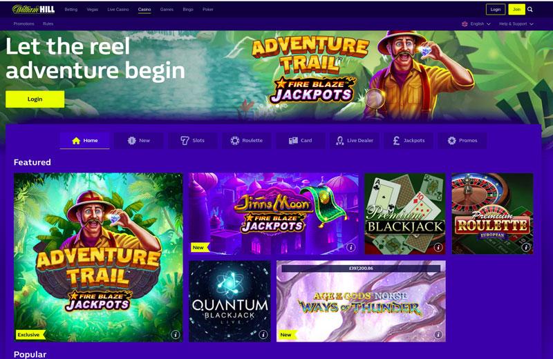 Online Casinos William Hill